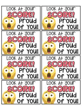 Back to School 50 Emoji Themed Motivational Positive Notes & Reward Coupons