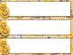 "Emoji Themed Name Plates--""Sweet Treat"" Editable"