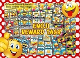 Emoji Themed Reward Tags and Something to BragAbout Book