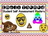 Emoji Themed Self Assessment Posters