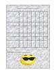 Emoji Themed Sticker Charts