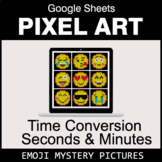 Emoji: Time Conversion: Seconds & Minutes - Google Sheets