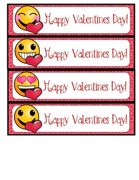 Emoji Valentine Cards and Bookmarks
