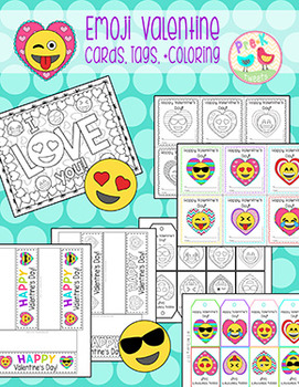 Emoji Valentines for Students