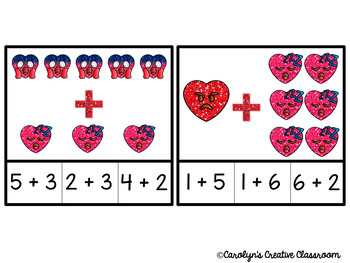 Emoji Valentine's Day Addition Clip Center