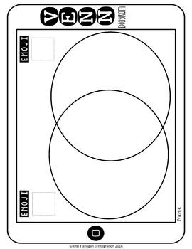 Emoji Venn Diagram Cut and Paste