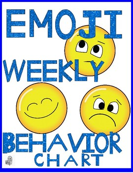 Emoji Weekly Behavior Chart