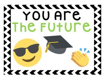Emoji When You Enter This Classroom Poster Bulletin Board