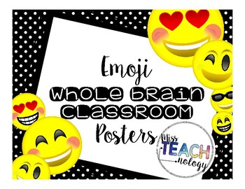 Emoji Whole Brain Teaching [Posters]