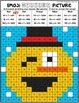 Emoji Winter Mystery Pictures   2 and 3 Digit by 1 Digit Multiplication