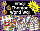 Emoji Word Wall- 100 Dolch Words, ABC Headers and Banner