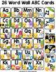 Emoji Word Wall Letters