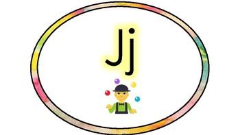 Emoji Word Wall Headers