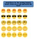 Emoji Working Towards 1-5 Visual Reinforcement Board