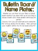 Emoji Writing Center and Classroom Decor: Pennants and Name Plates