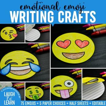 Emoji Writing Crafts