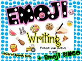 Emoji Writing, Emoji Bingo, Emoji Parts of Speech Sorts