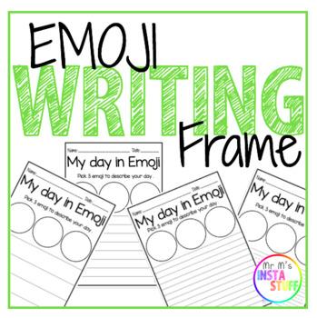 EMOJI Writing Frame
