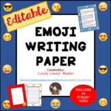 Emoji Writing Paper