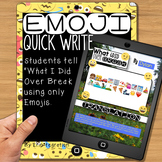 Emoji Writing Prompt