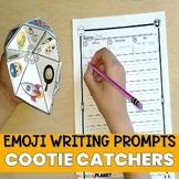 Writing Prompt Cootie Catchers Emoji