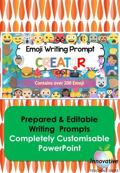 Emoji Writing Prompts (Creative Ideas Generator)