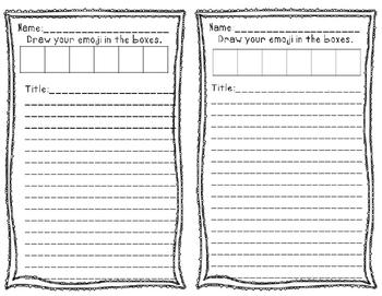 Emoji Writing Prompt Task Cards