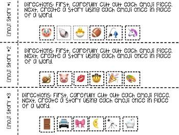 Emoji Writing Prompts