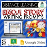 Emoji Writing Prompts Pack #1 Google Classroom Google Slid