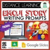 Emoji Writing Prompts Pack #4 Google Classroom Google Slid