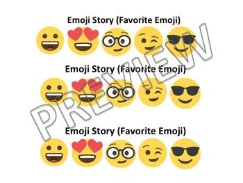 Emoji Writing Prompts/ Story Starters/ Writing Journal