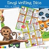 Emoji Writing Starters, Writing Templates, and Rubric