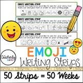 Emoji Writing Strips
