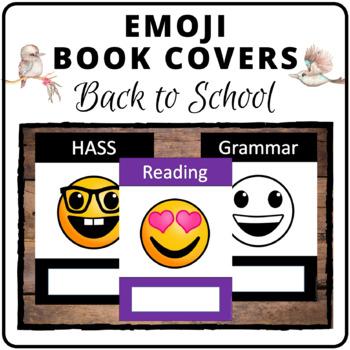Emoji book covers