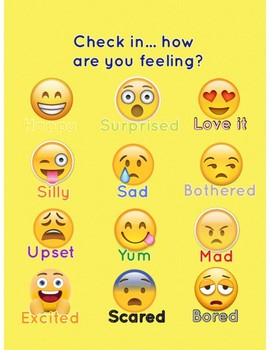 Emoji check In - How Are You Feeling?