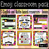 Emoji classroom pack