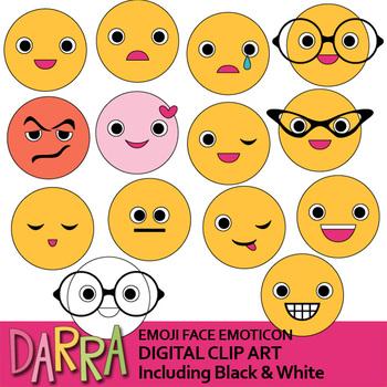 Emoji clip art - Face emoticon clipart