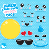 Emoji clipart commercial use, vector graphics  - CL1063