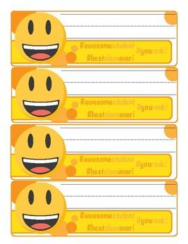 Strange Emoji Desk Name Tags Download Free Architecture Designs Scobabritishbridgeorg