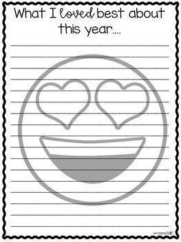 emoji craftivity