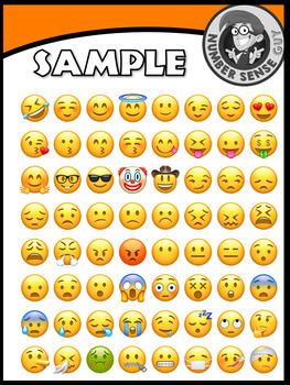 Emoji face clipart