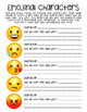 Emojinal Characters - Character Analysis and Emotion Exploration using Emojis