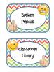 Emojis Classroom Labels