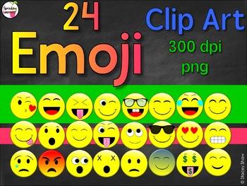 Emojis Clipart