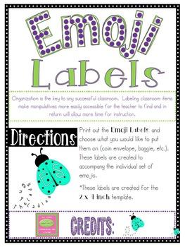 Emojis Labels