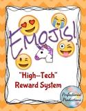 Emojis Reward System Behavior Chart Intervention Activity