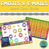 Emojis and E-mails Boom Card Game: speech therapy, articul