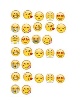 Emojis for Popsicle Sticks