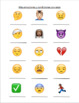 Emojis with Estar (guided notes AND notes powerpoint)