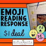 Emoji Reading Response Freebie